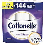 Cottonelle Ultra Comfort Care Toilet Paper, 36 Rolls
