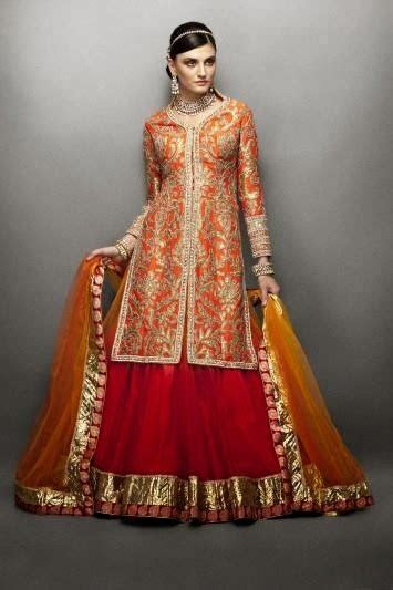 Exclusive Bridal Mehndi Dress Collection 2014 ~ Mayoon Frills