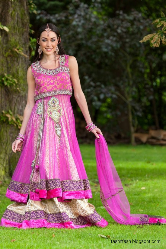 Anarkali-Frocks-in-Double-Shirts-Style-Double-Shirt-Dresses-2012-2013-4
