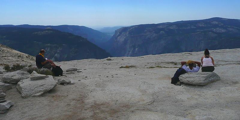 P1180402 Half Dome Trail: Top of Half Dome