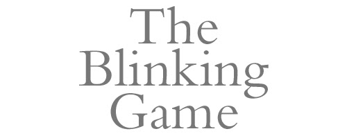 The Blinking Game by Kathleen Shannon and Daniel Solis.