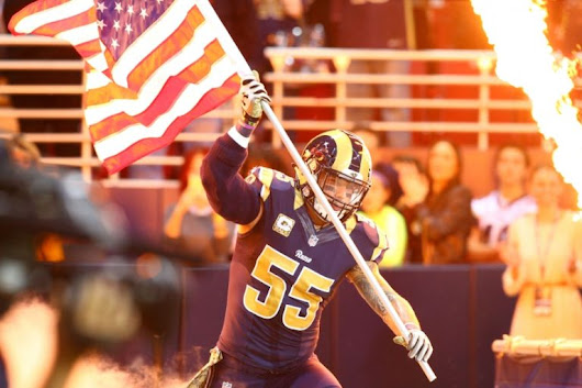 James Laurinaitis to visit with New Orleans Saints on Tuesday, report says
