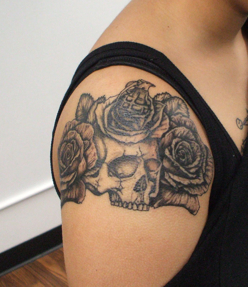 40 Arm Skull Tattoos