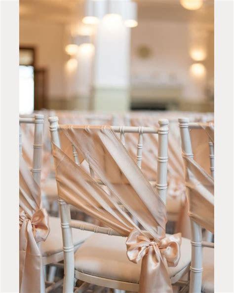 12 Beautifully Draped Fabric, Wedding Chair Ideas