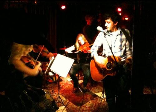 John Shade & The Neave Quartet, at Lizard Lounge
