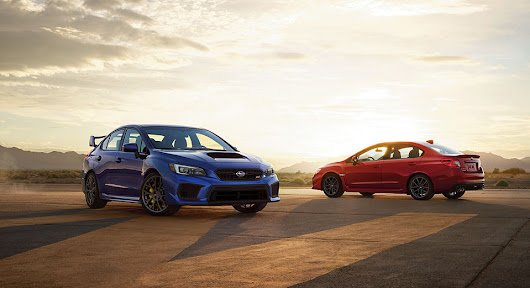 2018 Subaru WRX and WRX STI Pricing and Options Announced - 95 Octane