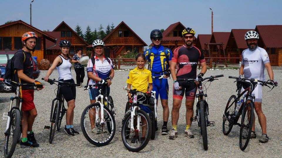 Principele Nicolae, expediție cu bicicleta pe Transfăgărășan