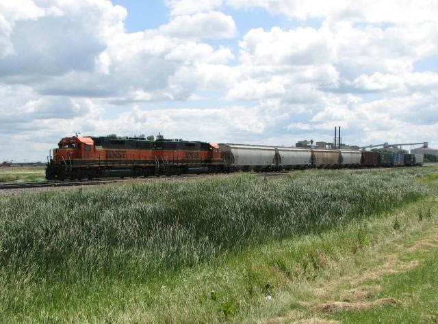 BNSF 2300, Drayton, North Dakota