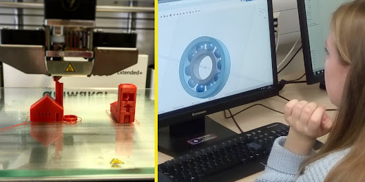 Intro to 3D Printing & Computer-aided Design (ages 11-14)