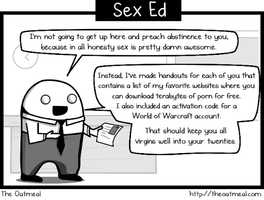 What we SHOULD have been taught in our senior year of high school - The Oatmeal