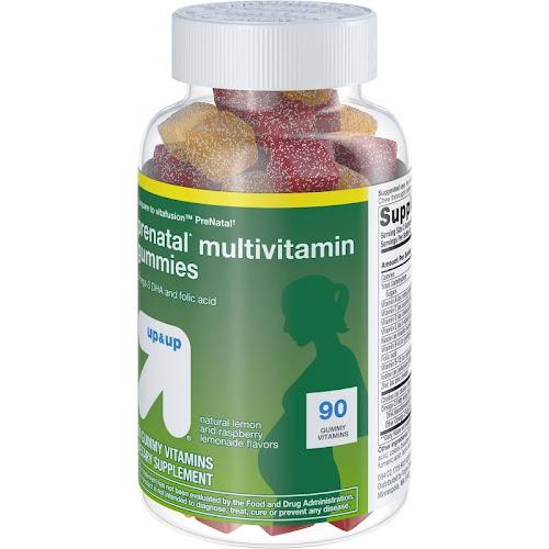 Up & Up Prenatal Gummy Multivitamins - 90 count