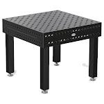"System 28 39""x39"" / 3'x3' Siegmund Welding Table Nitrided 4-280010.XD7 4 Floor Anchoring Legs"