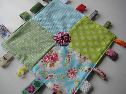 Tag blankie for Tracey by Poppyprint