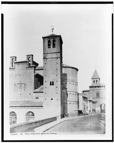 Santiago del Arrabal en el siglo XIX. Fotografía de Jean Laurent. The Library of Congress of the United States of America