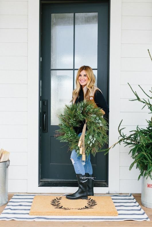 How-To Style Your Front Door