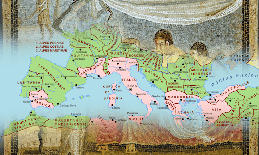 The Roman World – Interactive Map – HeritageDaily – Heritage & Archaeology News
