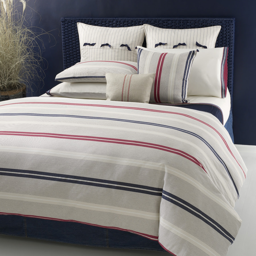 Stripes hype, bringing apparel trends into the bedroom
