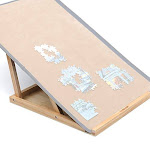 Lavievert Assembly Jigsaw Puzzle Bracketholder With Double Adjusting Rods For Puzzle Boards Of Varie
