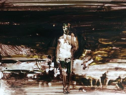 El pintor siempre esta solo by cardesin