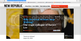 Link of The Week #13: Harper Lee