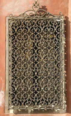 Wrought Iron Windows Ideas! on Pinterest