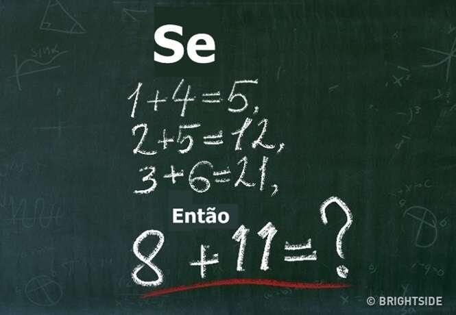 Apenas uma em cada mil pessoas consegue resolver esta questão de matemática