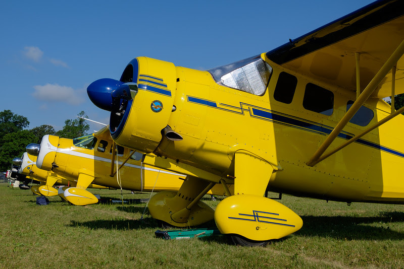 Collection of Howard DGA vintage aircraft