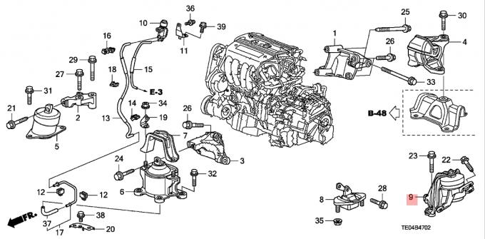 2008 Honda Accord V6 Engine Diagram
