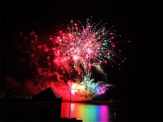 All The Fireworks: Plymouth and Flambards - A Cornish Mum