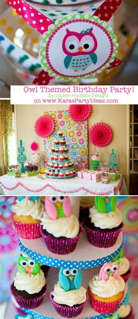 Kara's Party Ideas Owl Whoo's One themed birthday party