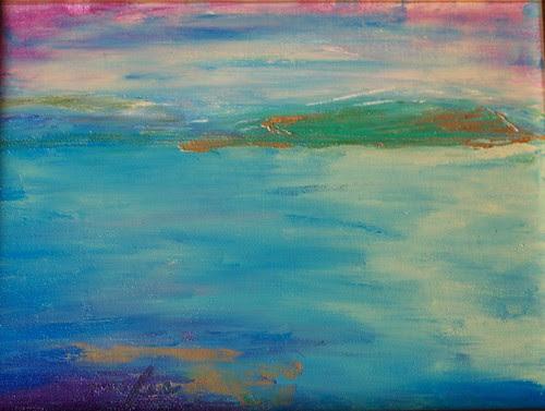 Stromness June 2011 by Roberta MacRae Artist in the Landscape