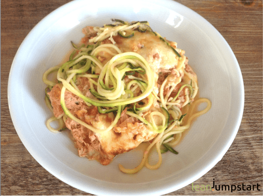Tuna Casserole Recipe with Zoodles: Easy and Almost Clean