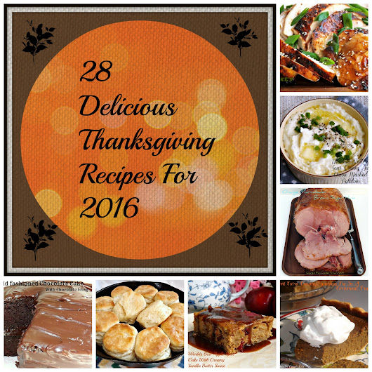 28 Delicious Thanksgiving (and Thanksgiving Leftovers) Recipes for 2016 | From Cupcakes To Caviar