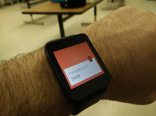Productivity with Wear Pomodoro