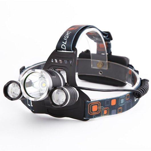 TX-5000 TACTICAL HEADLAMP