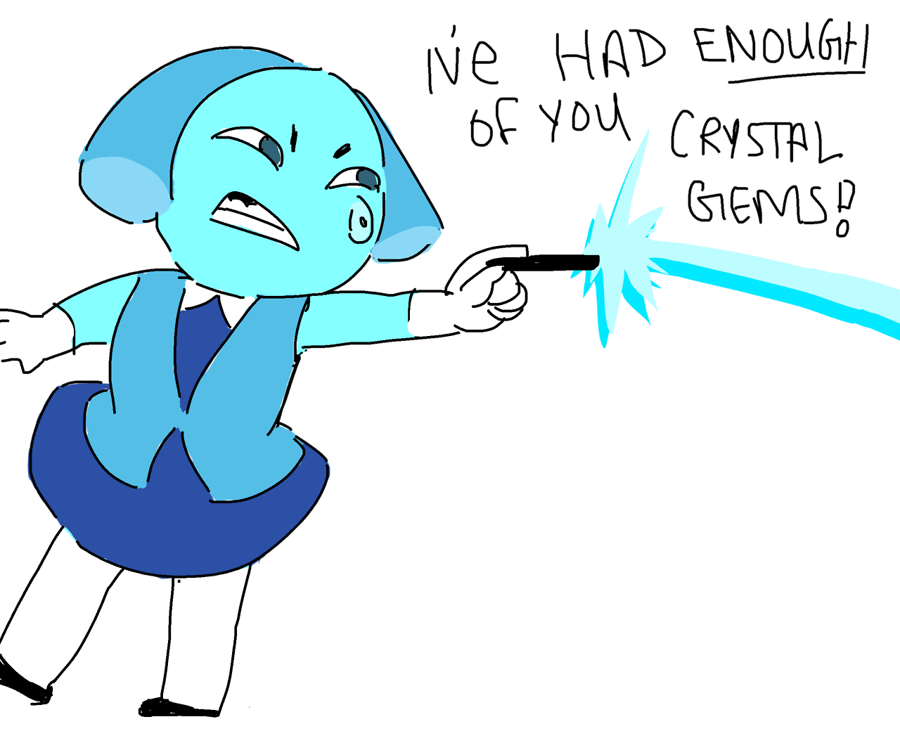 ,theres a 99% chance this is how they defeat aquamarine
