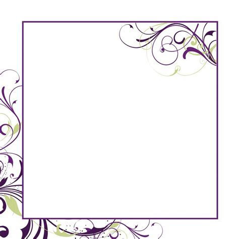 Blank Wedding Card Samples Blank Wedding Invitation