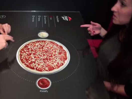Pizza Hut Developed A Hi-Tech Way To Make Ordering More Fun