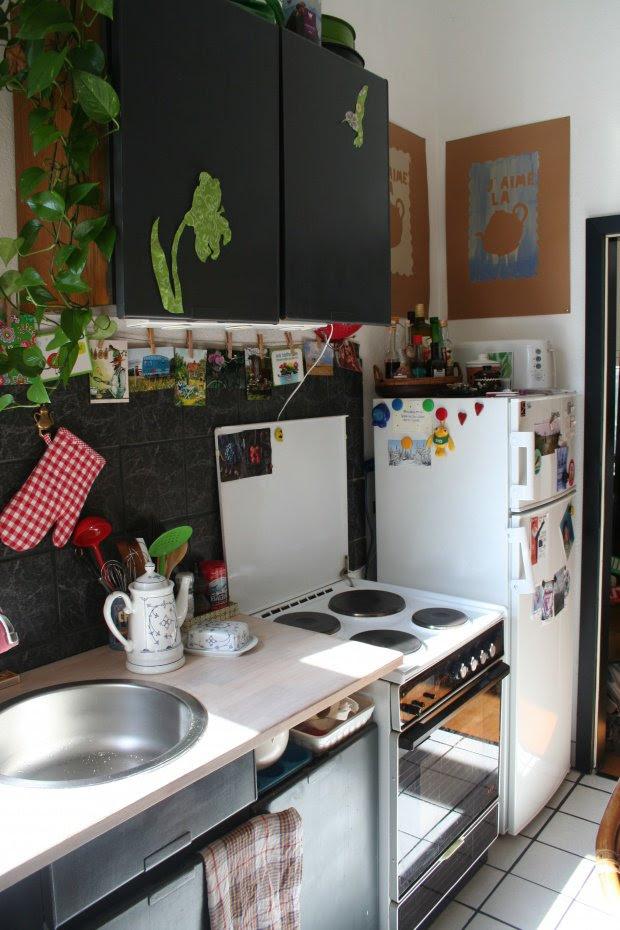 kleine küchen ideen für die raumgestaltung  solebichde
