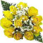 Ten Dozen Yellow Rose Bouquets
