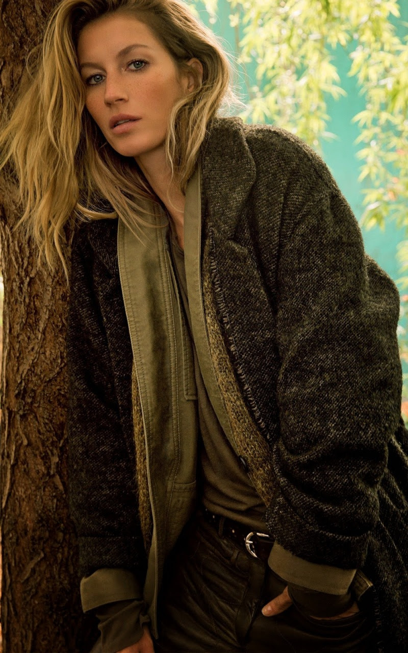 Gisele Bundchen for Isabel Marant Fall 2014
