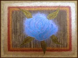 'Blue Rose #1' ©2005 Storm Faerywolf
