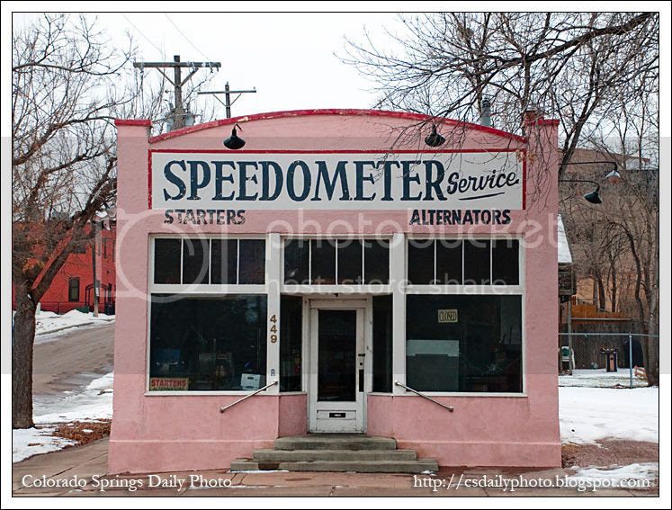 It Was Clearly Built In The 1930s And S Housed Sdometer Service Company For As Long I Can Remember