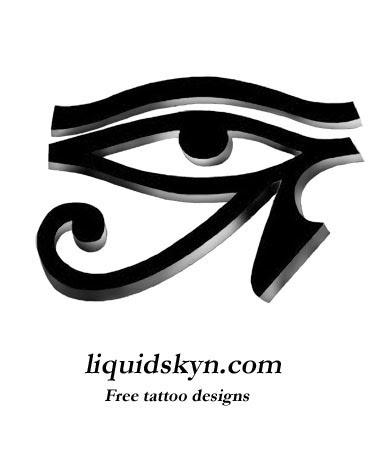 Pictures Of Egyptian Eye Tattoo Designs Kidskunstinfo