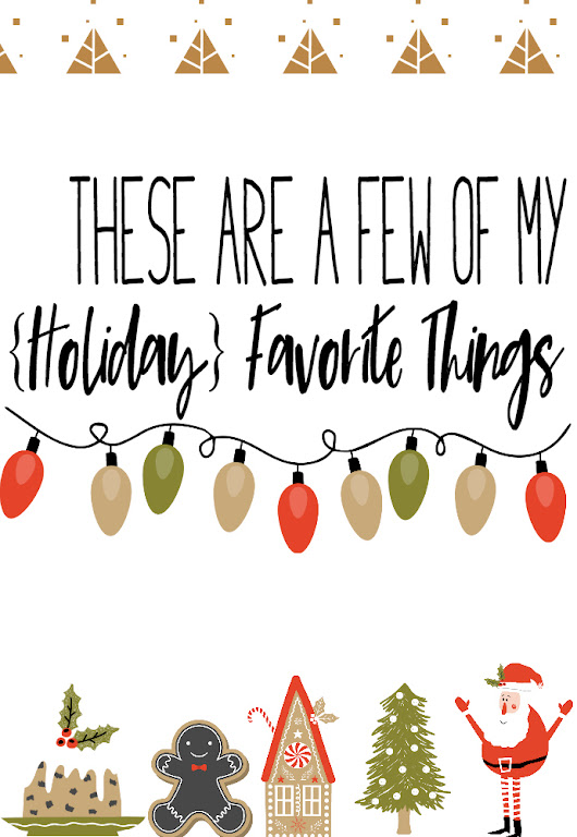 A Few of My Favorite {Holiday} Things + Neat Blog Award