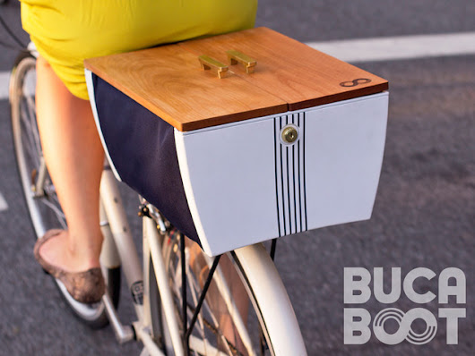 Buca Boot: Flexible, Secure Storage for the Urban Biker