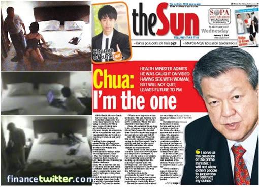 MCA President Chua Soi Lek - Sex DVD Scandal - Admission