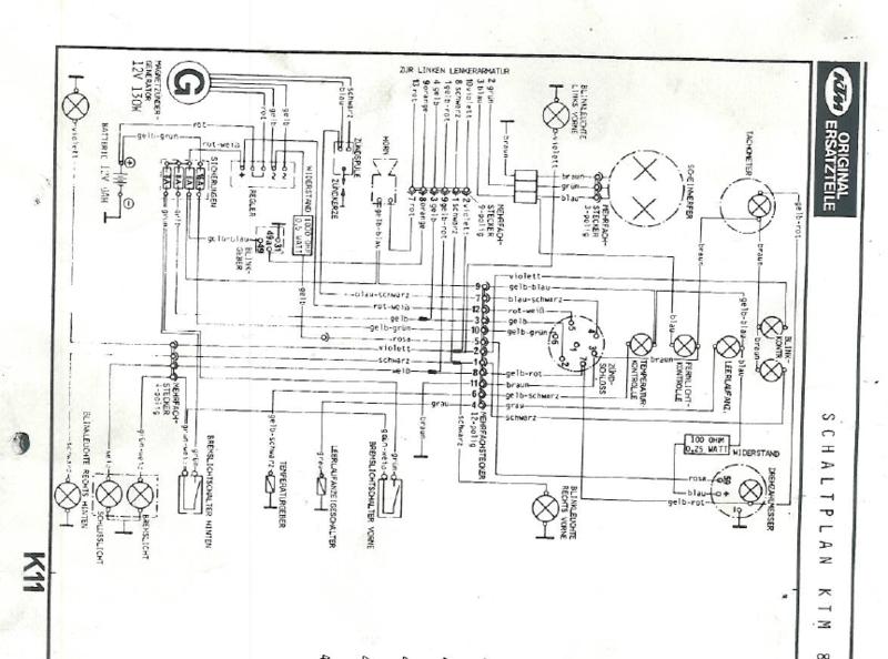 Ktm Lc4 Schaltplan
