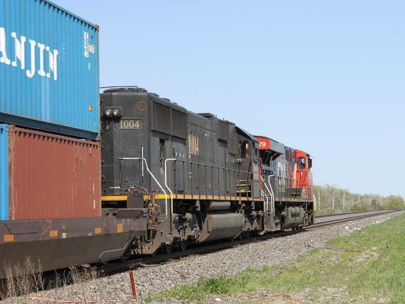 Illinois Central IC 1004 in Winnipeg
