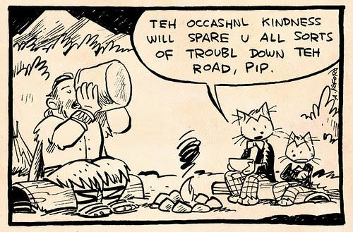 Laugh-Out-Loud Cats #1716 by Ape Lad